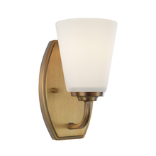 Artcraft AC10461VB - Hudson 1 Light  Vintage Brass Wall Bracket
