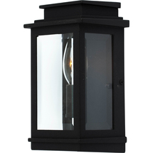 Artcraft AC8191BK - Fremont 1 Light  Black Outdoor Wall Light