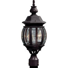 Artcraft AC8363RU - Classico 3 Light  Rust  Outdoor Light