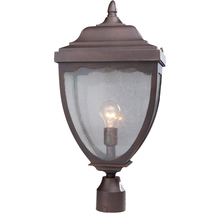 Artcraft AC8923OB - Oakridge 1 Light  Oil Rubbed Bronze Outdoor Post Light