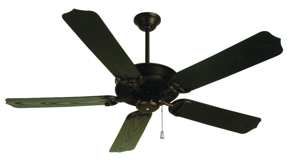 "Porch Fan 52"" Ceiling Fan Kit in Oiled Bronze"