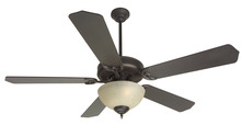 "Craftmade K10629 - Pro Builder 202 52"" Ceiling Fan Kit with Light Kit in Oiled Bronze"