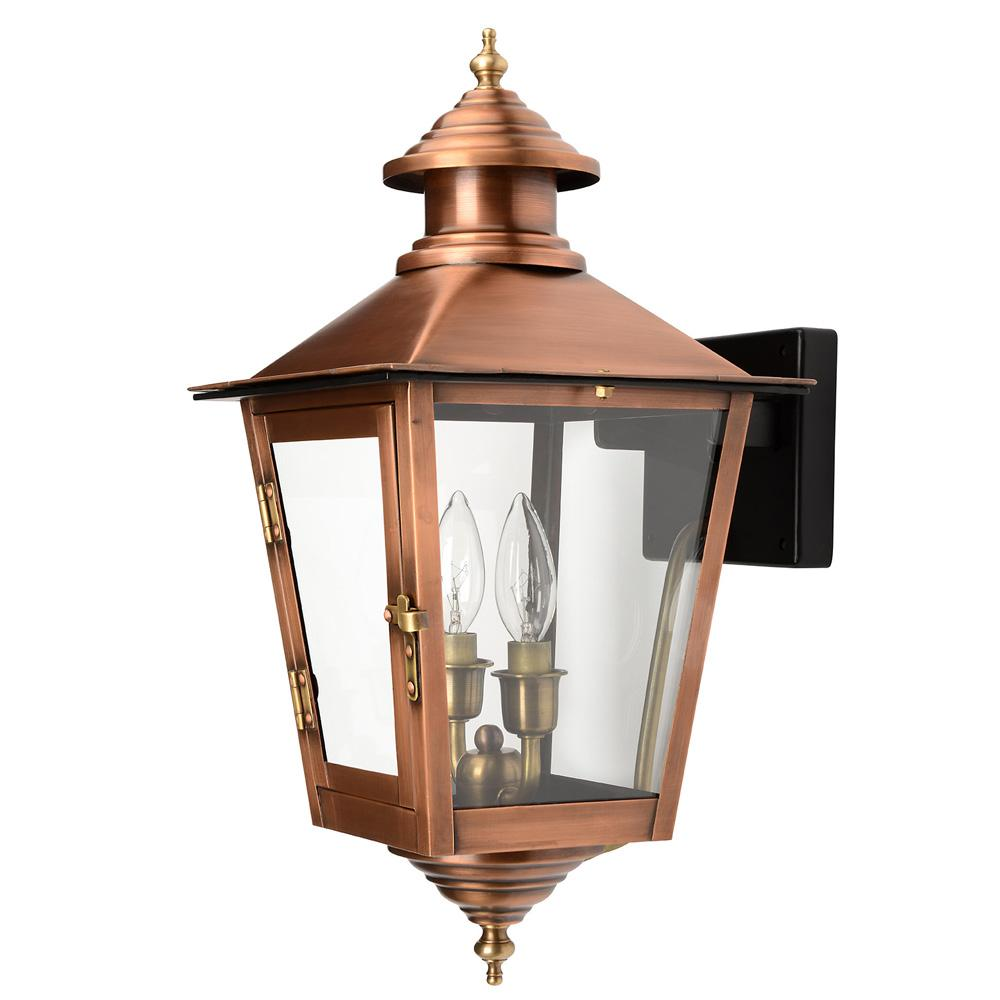 Jamestown collection wall mount outdoor copper patina light fixture jamestown collection wall mount outdoor copper patina light fixture aloadofball Images