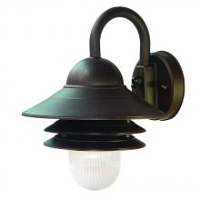 Acclaim Lighting 82ABZ - Mariner Collection Wall-Mount 1-Light Outdoor Architectural Bronze Light Fixture