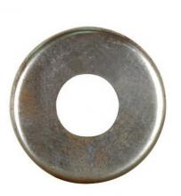 Satco Products Inc. 90/1640 - Steel Check Ring Straight Edge 1/8 IP Slip - Unfinished 2-3/4""