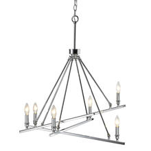 Golden 2360-6 CH - 6 Light Chandelier