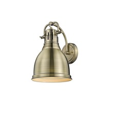 Golden 3602-1W AB-AB - 1 Light Wall Sconce