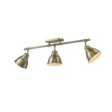 Golden 3602-3SF AB-AB - Semi-Flush - Track Light