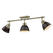 Golden 3602-3SF AB-RBZ - Semi-Flush - Track Light