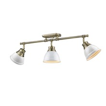 Golden 3602-3SF AB-WH - Semi-Flush - Track Light