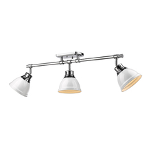 Golden 3602-3SF CH-WH - Semi-Flush - Track Light