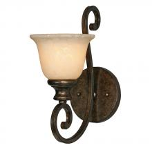 Golden 8063-1W BUS - 1 Light Wall Sconce