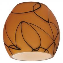 Sea Gull 94398-6137 - Ambiance Fossil Directional Mini-Glass Shade