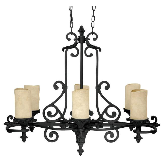 Six light wrought iron candle chandelier 3267wi 125 salt box six light wrought iron candle chandelier aloadofball Gallery