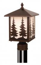 "Vaxcel International OP33485BBZ - Yosemite 8"" Outdoor Post Light"