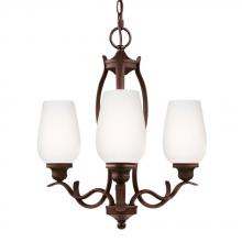Feiss F3001/3ORBH - 3 - Light Chandelier