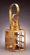 Northeast Lantern 5131-AB-MED-CLR - Can Top H-Bars Wall Antique Brass Medium Base Socket Clear Glass